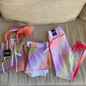 3 piece Victoria's Secret sport hoodie Anorak